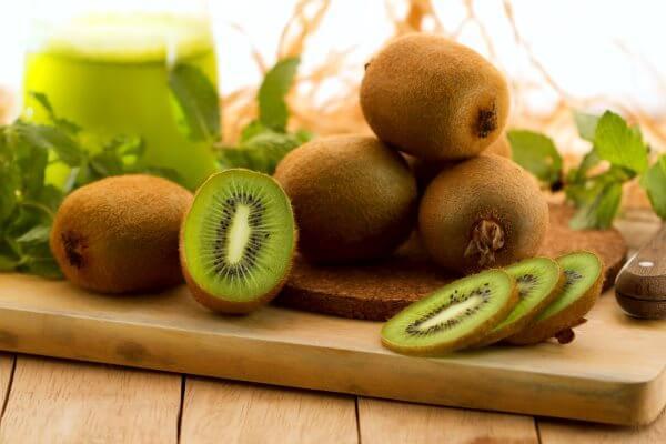 Фото: плоды Киви в разрезе